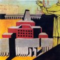 aldo-rossi-some-of-my-projects-with-a-figure-of-a-saint-1972