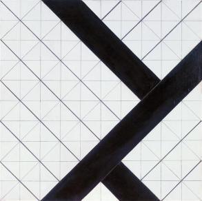 Van Doesburg, Composición VI 1925