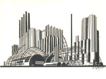 Iakov Chernikhov, Construction of Architectural and Machine Forms