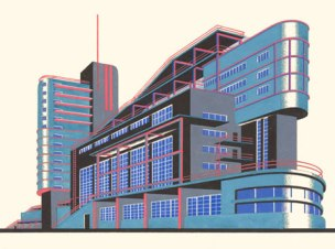 Iakov Chernikhov, Architectural Fantasies