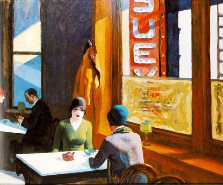 Edward Hopper, Chop Suey, 1929