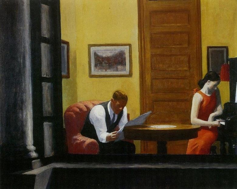 Edward Hopper, Roon in New York, 1932