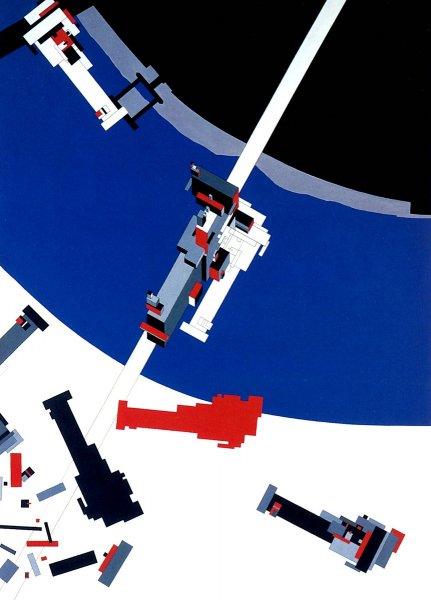 Zaha Hadid, Malevich's Tektonik,