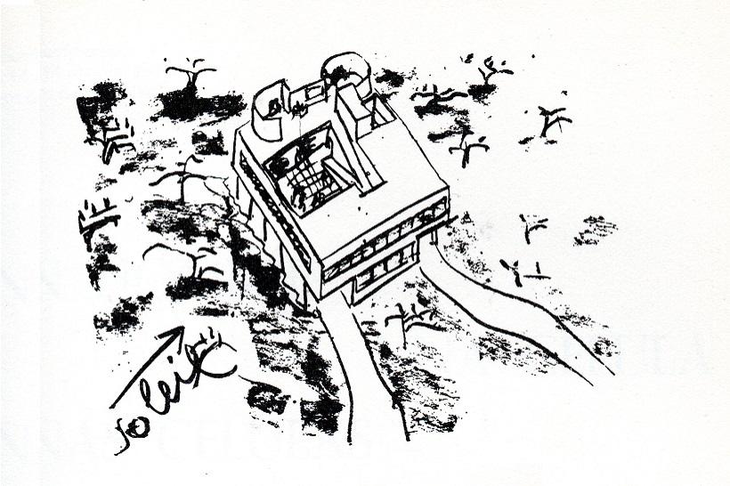 Le Corbusier, Modelos de Villa Savoye en Argentina