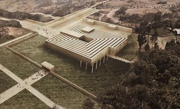Le Corbusier, Musée d'Art Contemporain. París 1931 ©Dionisio Gonzalez