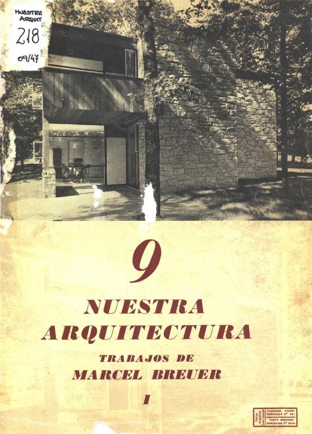 Nuestra Arquitectura, Septiembre de 1947