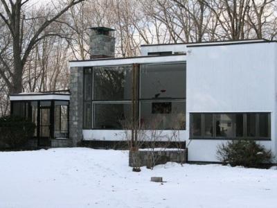 Marcel Breuer, Breuer House, tecnne