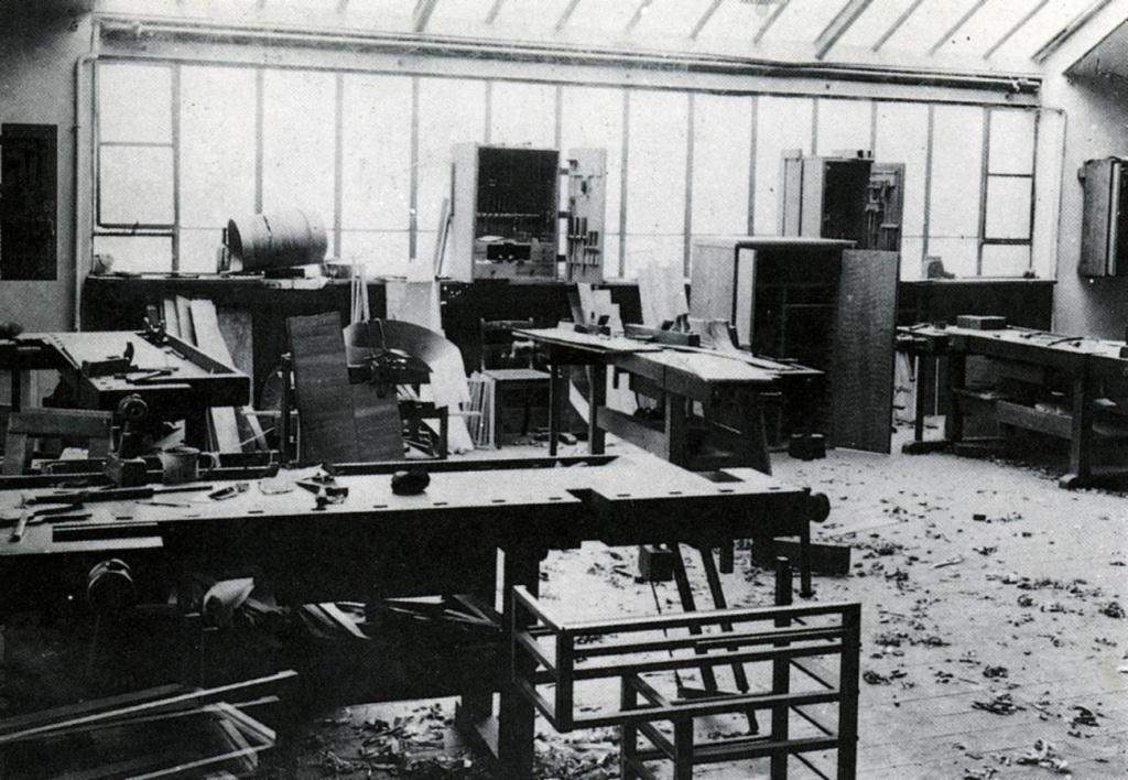 Talleres de la Bauhaus. tecnne