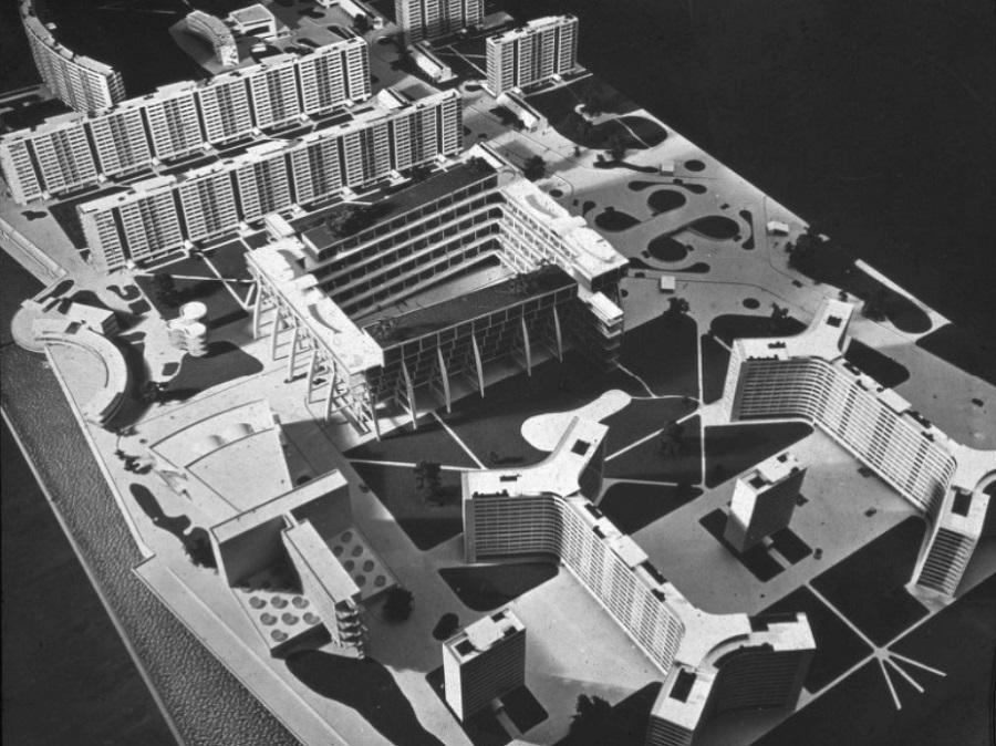 Marcel Breuer, Garden City of the future,