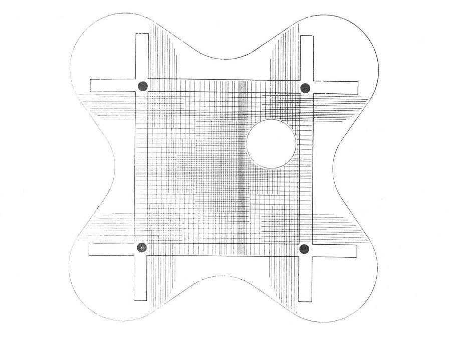 Parador Ariston, estructura