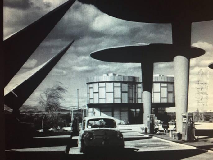 """Estación """"El Rebollet"""" Cafetería, Juan Haro de Piñar, 1962 ©Fundación Goerlich"""