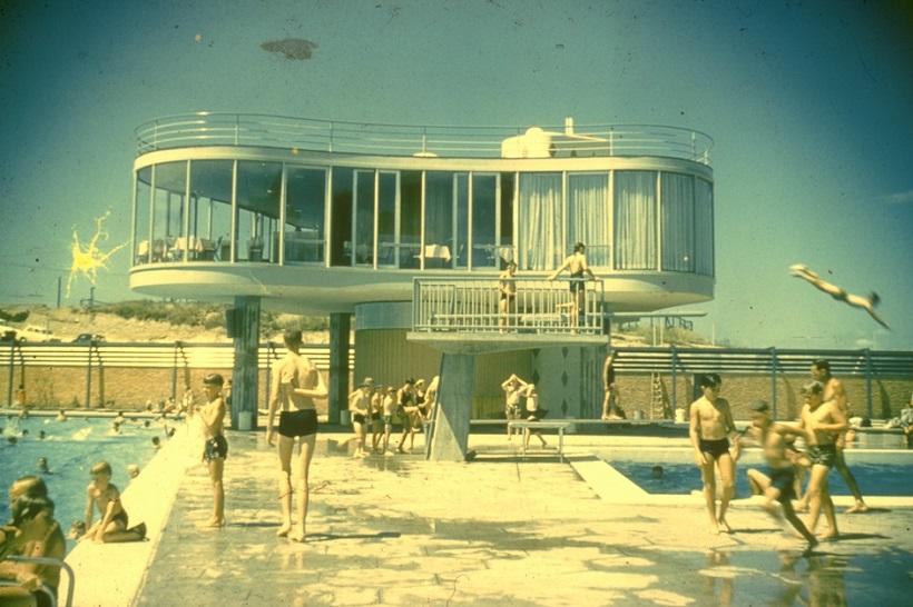 Centenary swimming pool, James Birrell, 1959