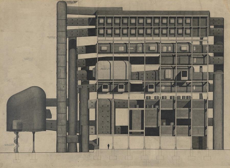 Michael Web, Furniture Manufacturers Association Headquarters, 1957