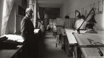 Le Corbusier, Atelier Rue de Sévres, 1948